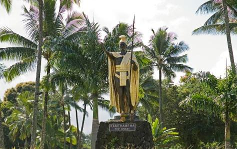 Kamehameha The Great Statue, Hawaii