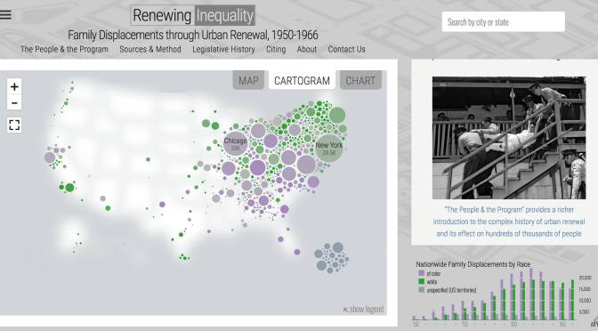 """From Redlining to Urban Renewal: University of Richmond's Digital Scholarship Lab goes from """"Mapping Inequality"""" to """"Renewing Inequality"""""""
