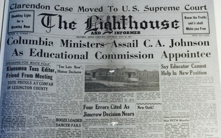 Lighthouse & Informer Front Page_1951