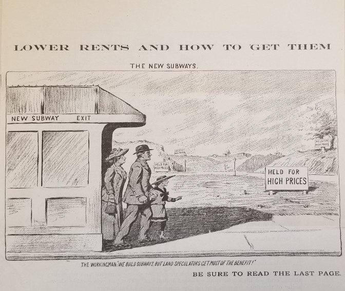 Taxing the land: Henry George, NYC, and the land value tax