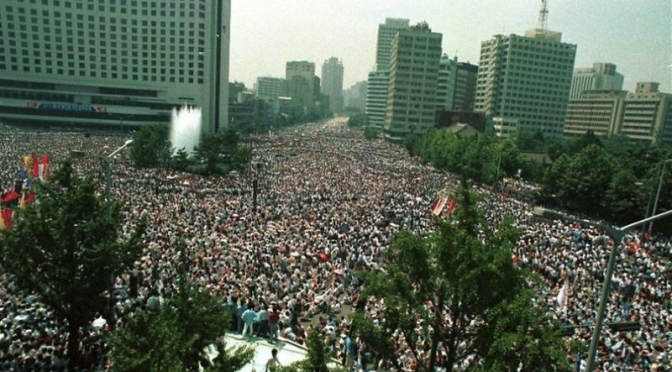 Protest in the Streets: A Thumbnail History and Personal Account of Political Dissent in Seoul