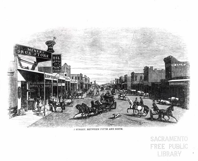 1854 Street Scene