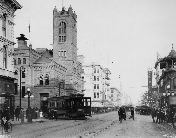 K Street in 1910
