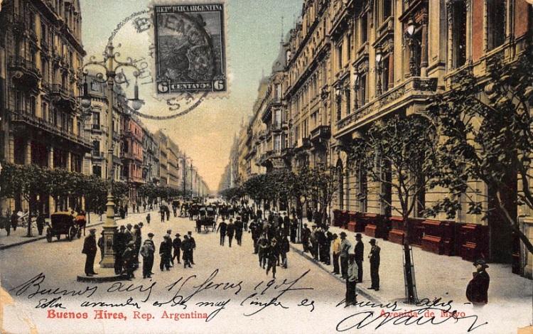 Bs As Avenida de Mayo