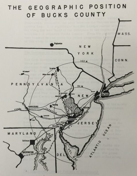 geographic Position 1954 plan