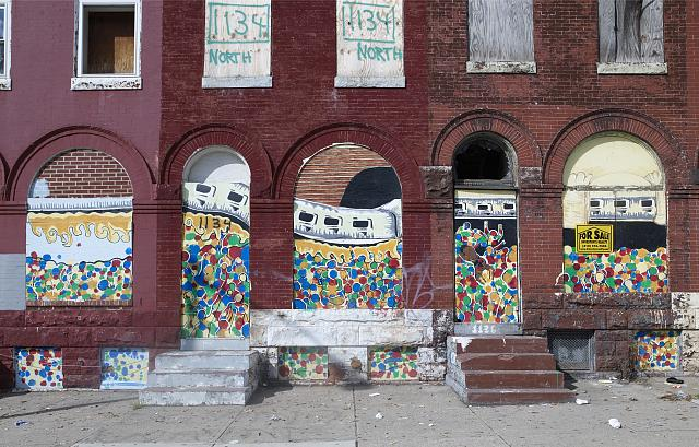 Mural in Baltimore, Maryland