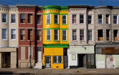 Baltimore, Maryland Row Houses