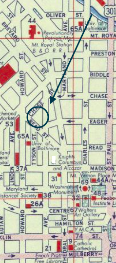Shell Map Tyson Street 1956 copy