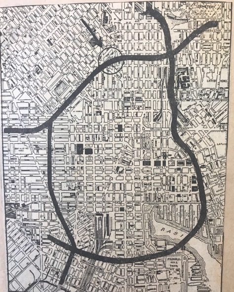 Tyson St Map 1
