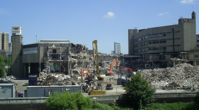 Bipartisan Brutalism: The Rise and Fall of the Yorkshire Post Building in Leeds