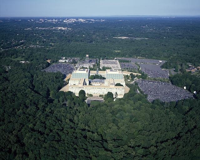 C.I.A. Headquarters aerial