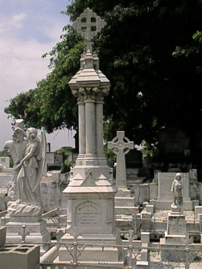 JCV whole tombstone
