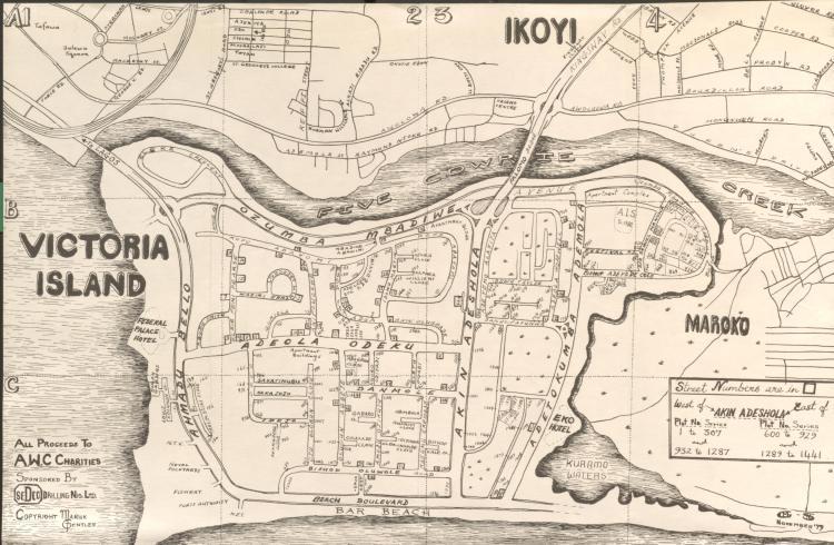 Lewis Map of Lagos II