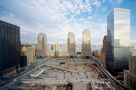 Ground Zero under construction, New York City