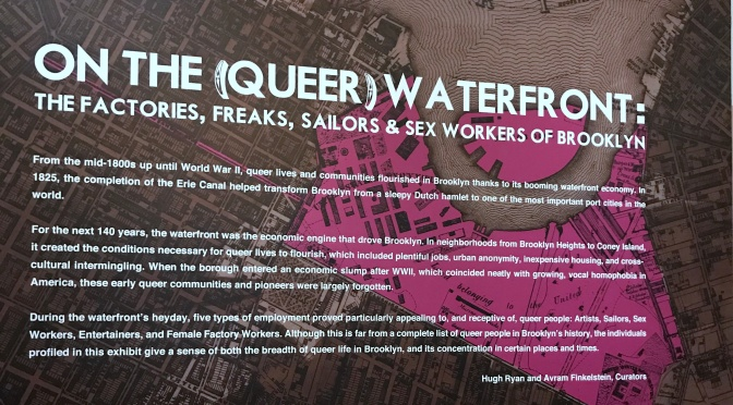 Leafy Blocks and Working Docks: Tracing Queer Community in pre-Stonewall Brooklyn