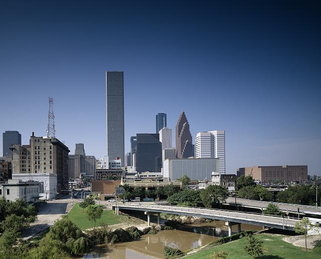 View of Houston from University of Houston-Downtown