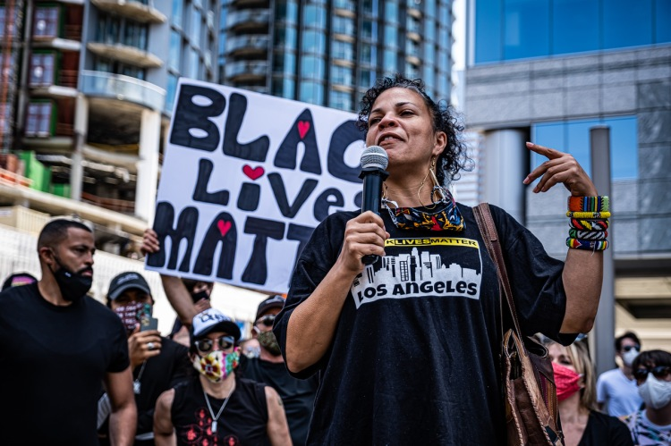 Black Lives Matter - Century City Protest - June 6, 2020